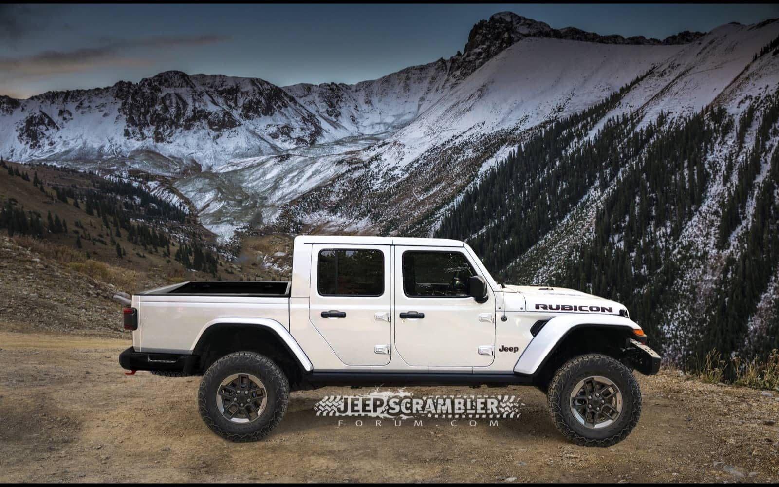 Jeep Gladiator Podria Finalmente Denominarse La Version Pick Up