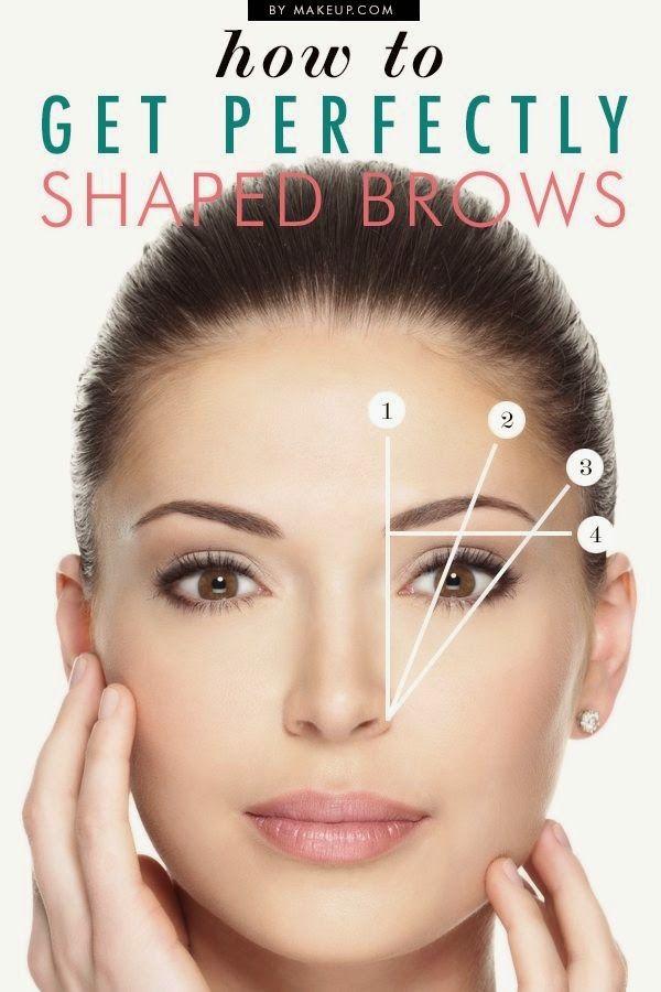 Cómo depilar y maquillar las cejas según tu tipo de rostro - tipos de cejas