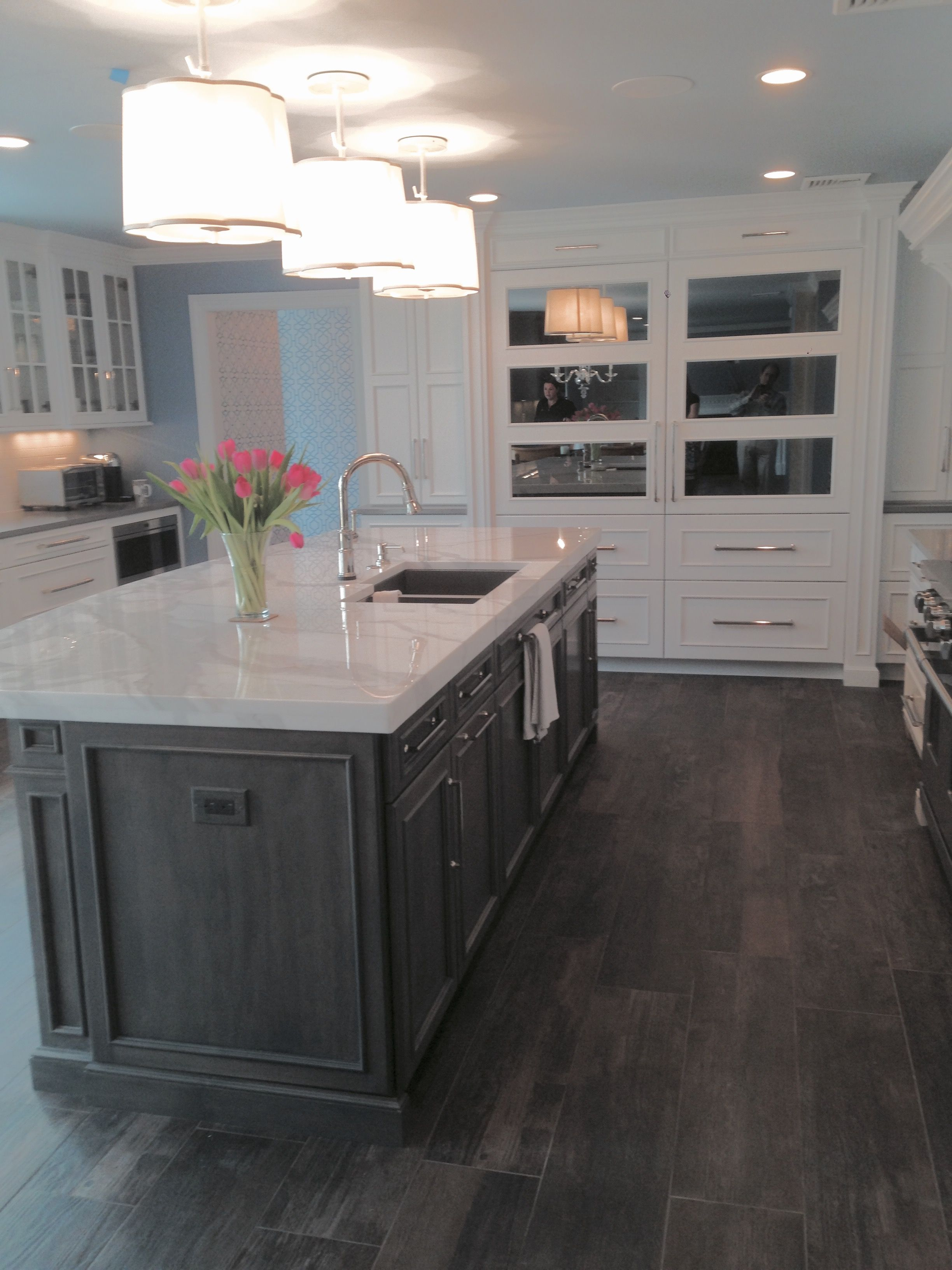 Best Kitchen Gallery: Peter Salerno Inc Design Portfolio Transitional Kitchen Mirrored of Luxurious Kitchen Designs Refrigerator on rachelxblog.com