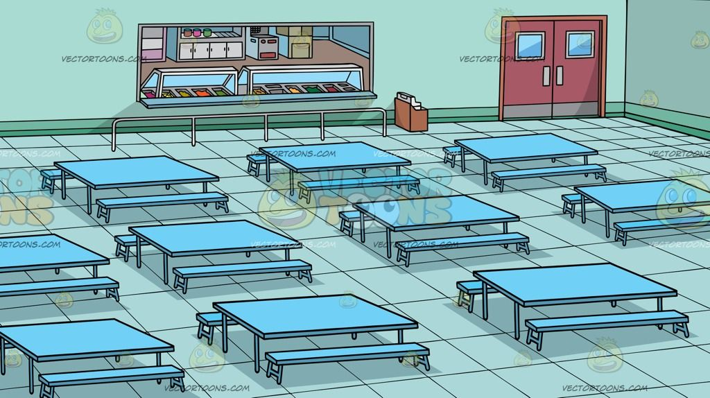 Image Result For School Cafeteria Background Teal Walls School