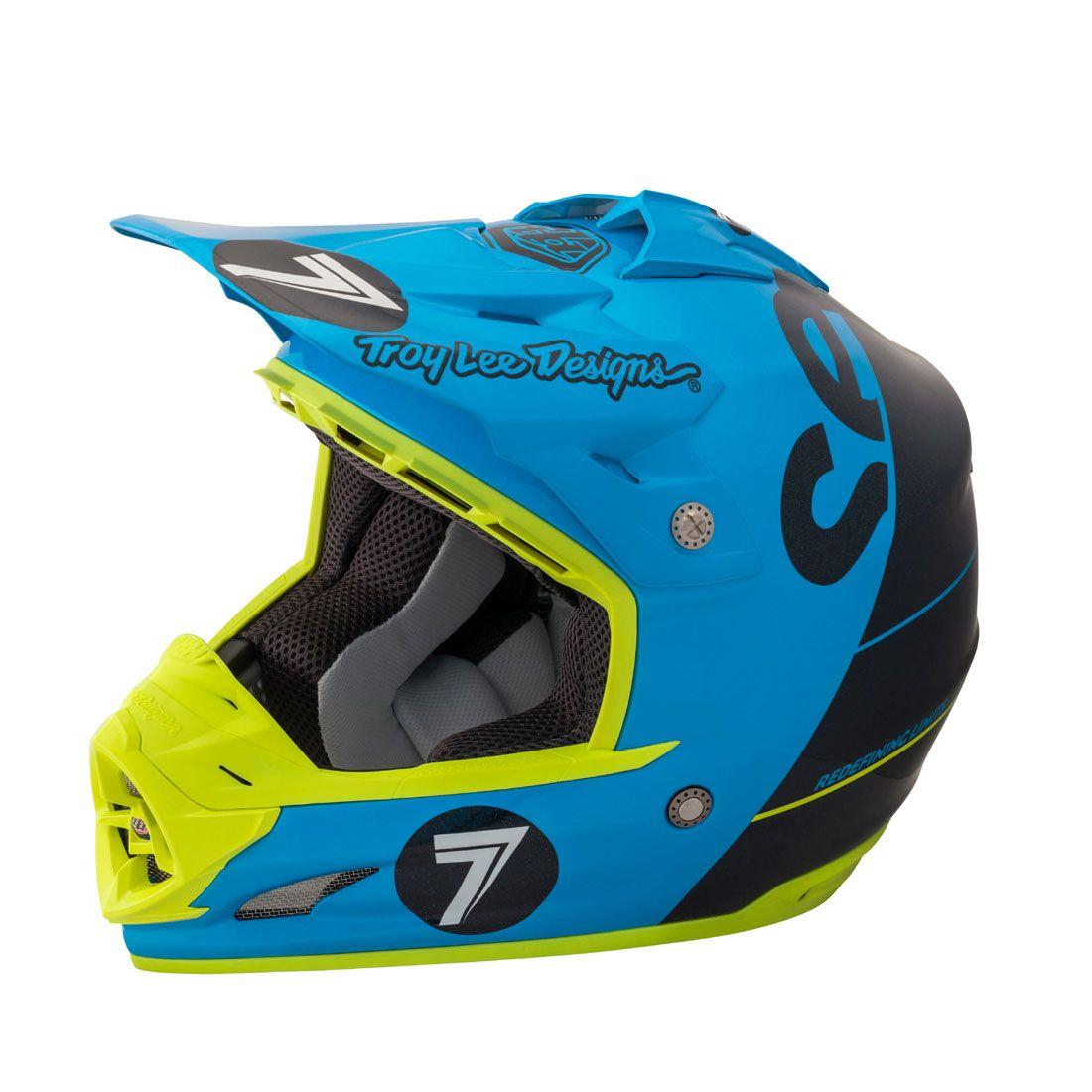 Seven Mx Troyleedesigns Se3 Supra Helmet Helmet Motorcycle