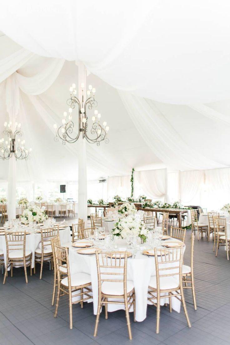 Neutral & Elegant Outdoor Wedding | ElegantWedding.ca