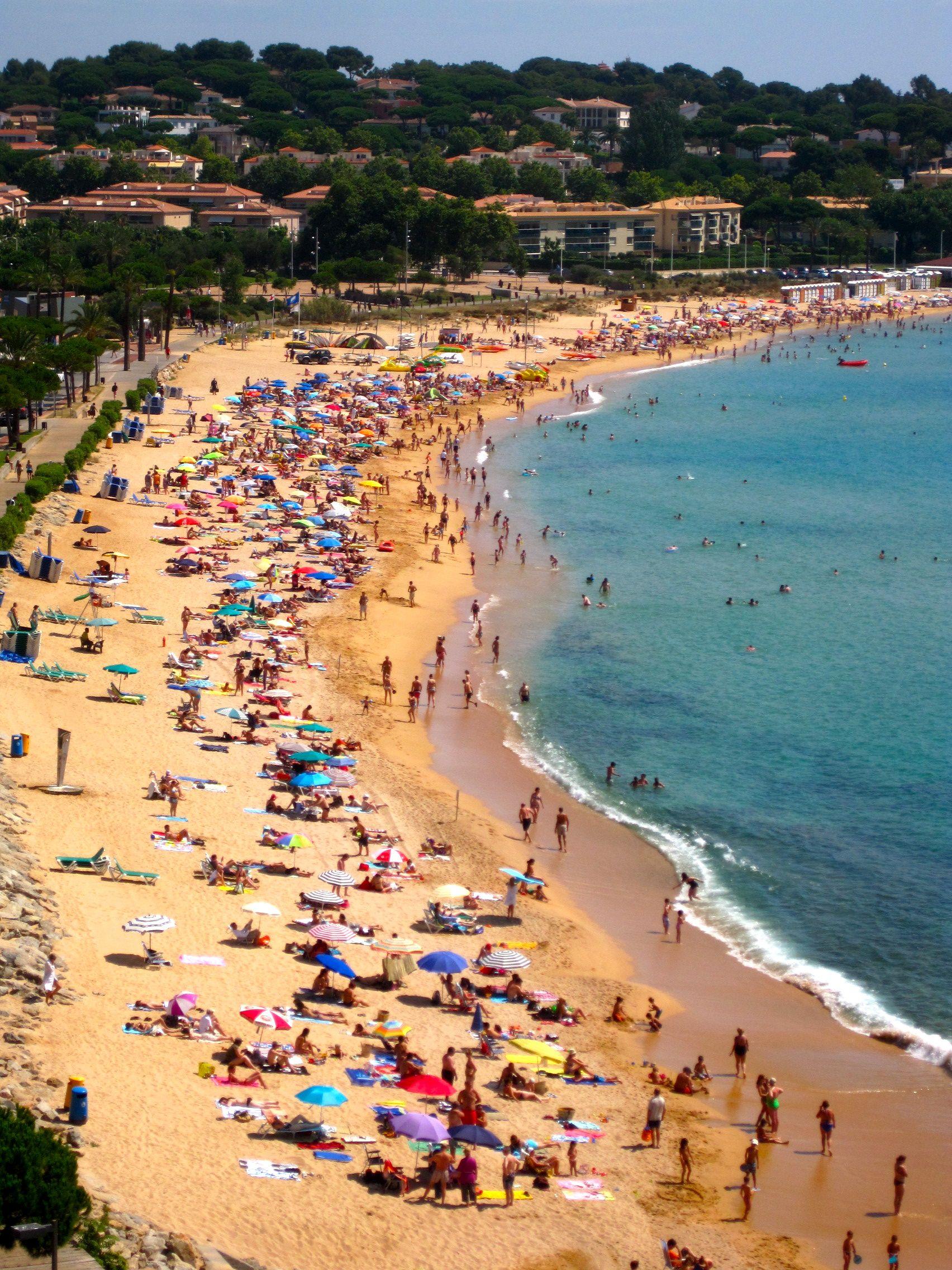 Beach In S Agaro Spain Costa Brava Spain Around The World In 80 Days Spain