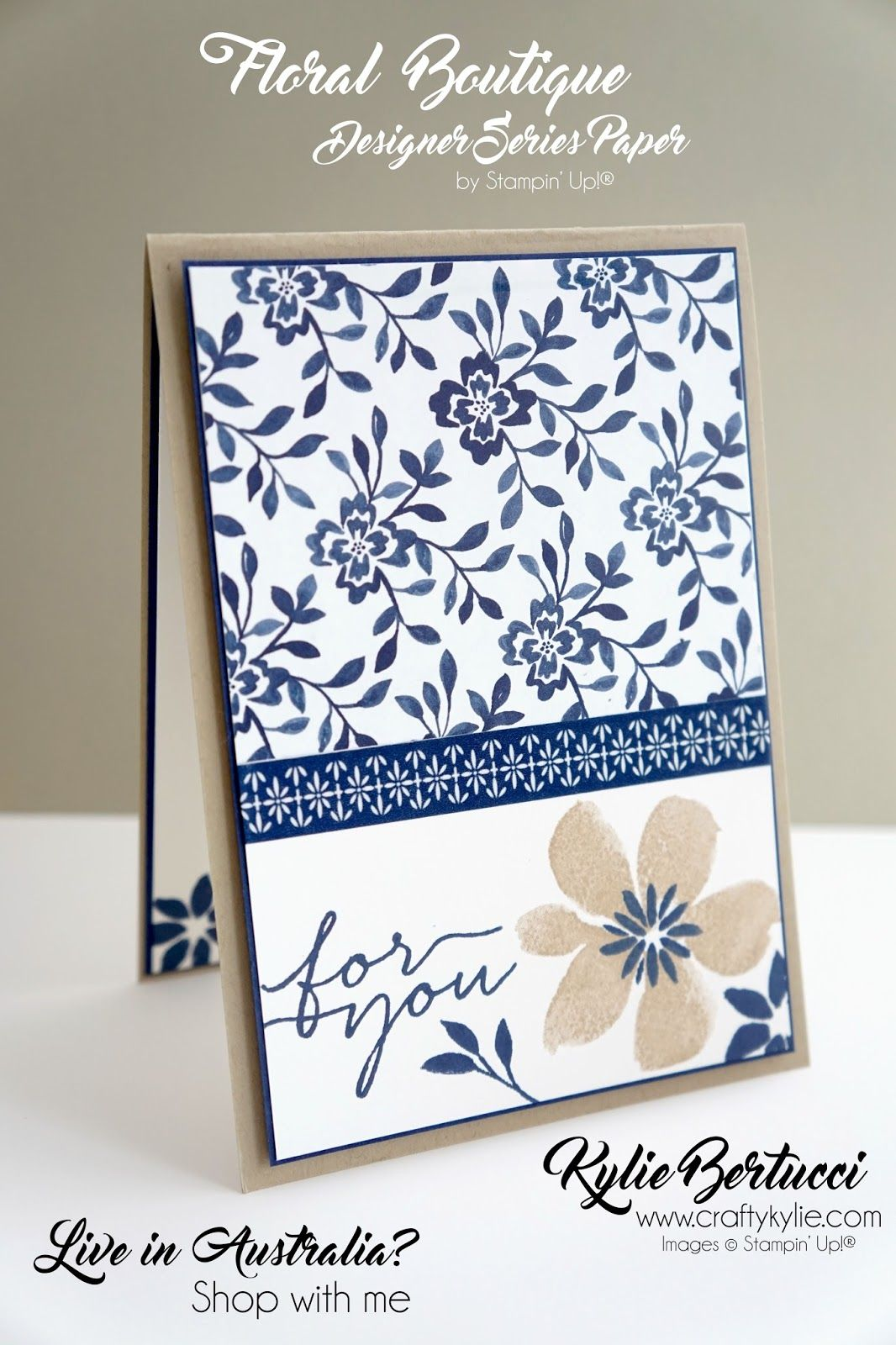 Crazy Crafters Blog Hop with special Guest - Julie Davison #stampin#39;up!cards