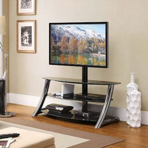 Whalen Tv Stand For 60 Flat Panels Tvs Casitas Patios Madera