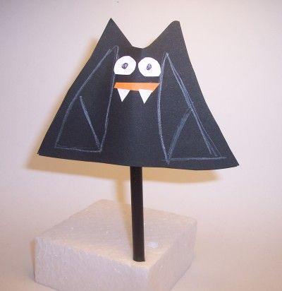 Lavoretti Per Halloween Il Pipistrello Halloween Halloween Foto Pipistrello