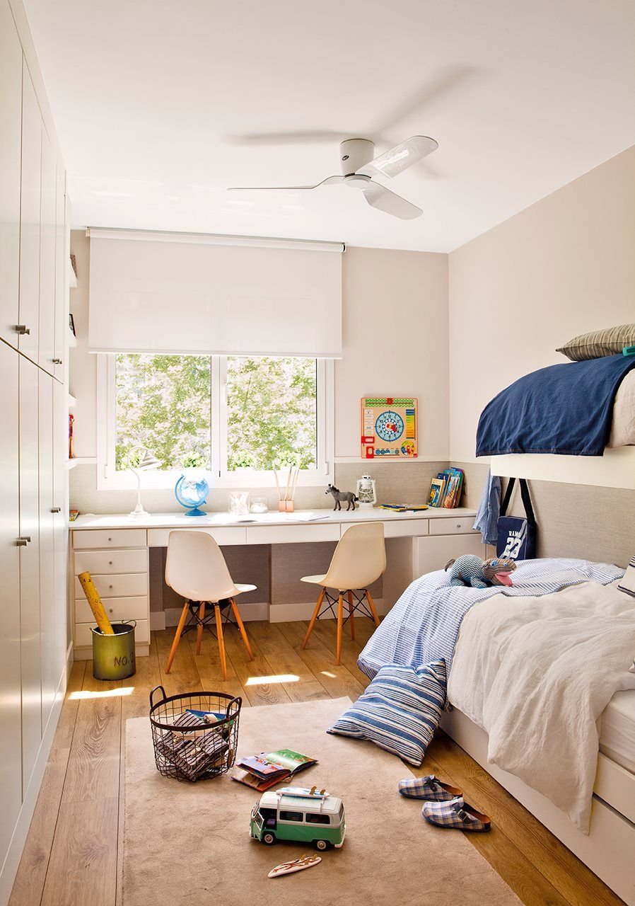 La nueva vida de un piso antiguo habitaci n infantil for Habitacion de nina pequena