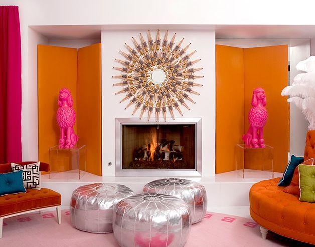 Barbie Wall Art - Hot Pink Poodle - Barbie Dream House | homes ...