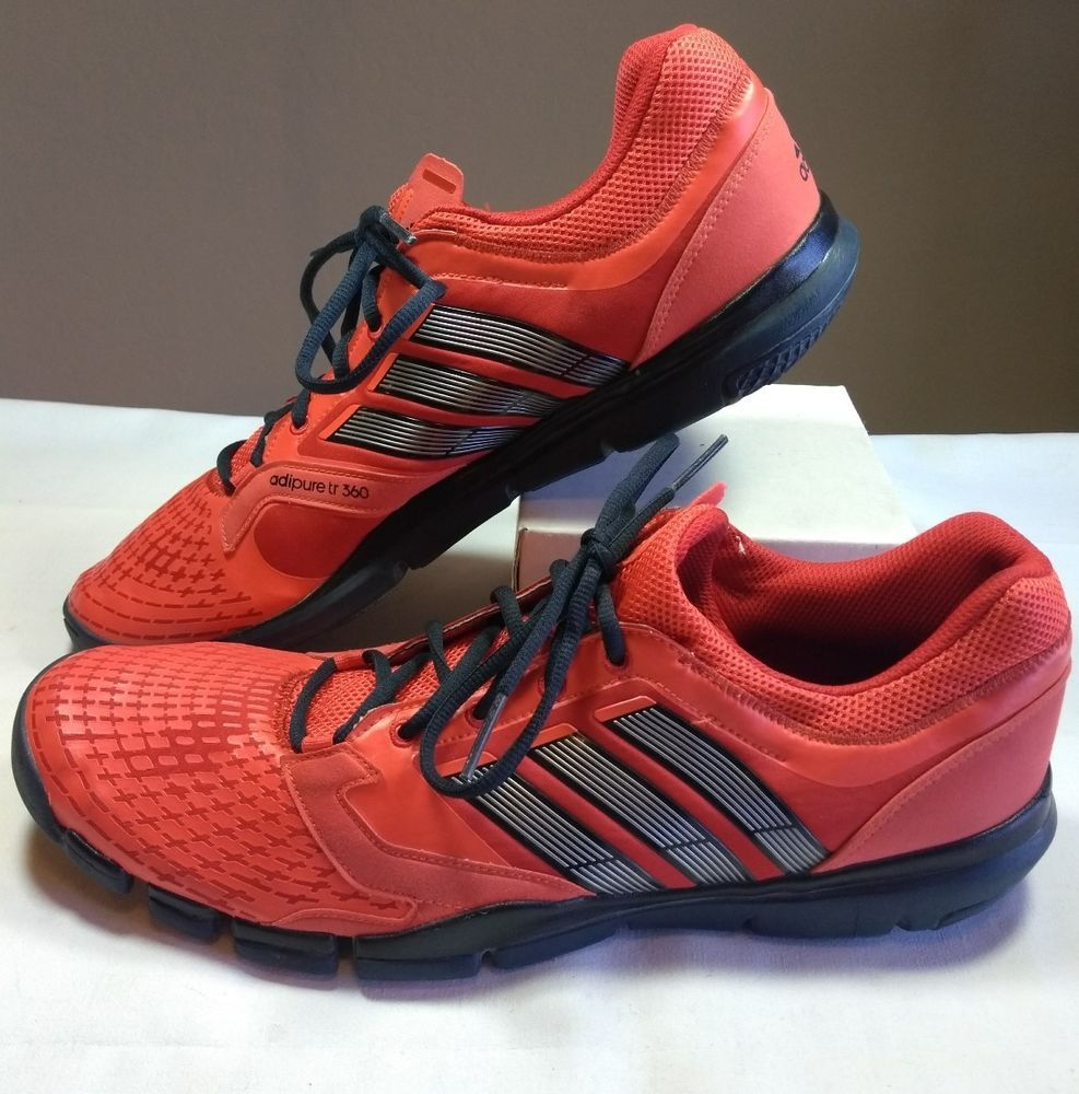 815f24a10 Adidas adipure tr 360 Men s Size 15 Red Running Shoes Athletic Soccer Track   adidas  RunningShoes