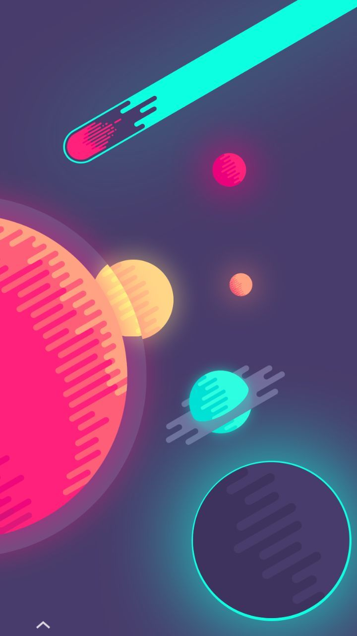 Space Is Cool Simple Phone Wallpapers Abstract Wallpaper Planets Wallpaper