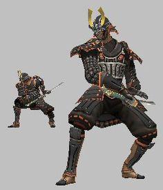 Resultado de imagen para samurai sword poses