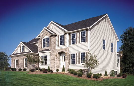 Exterior Portfolio Craneboard Solid Core Siding In Pearl Siding Options House Exterior Parade Of Homes