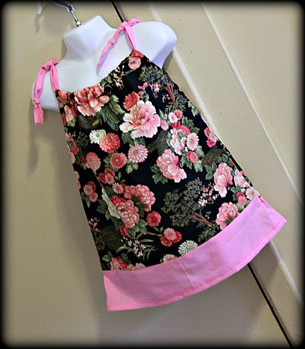 This A Pretty Little Pillowcase Dress That I Made By Converting A