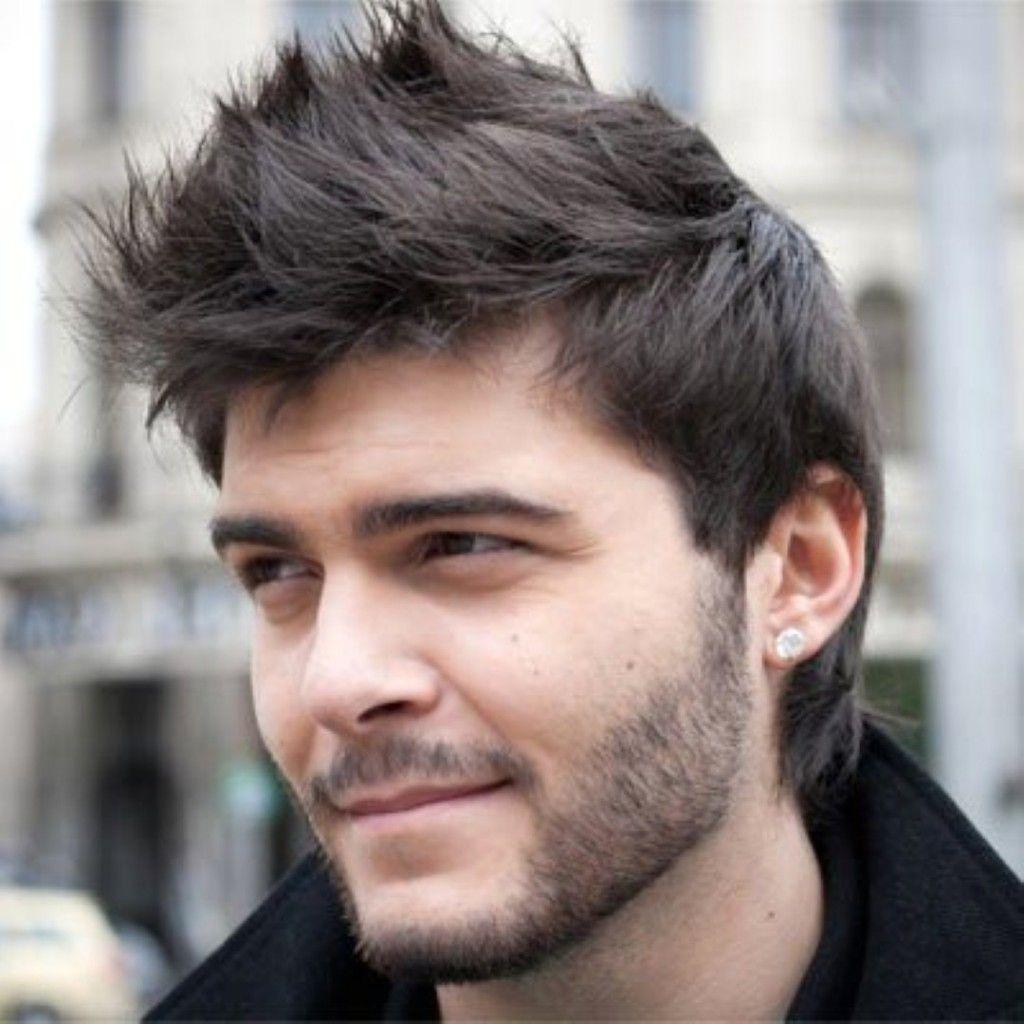 Httpwwwgetahairstylecomtoptrendingmediumhairstylesfor - Straight hair styles for men