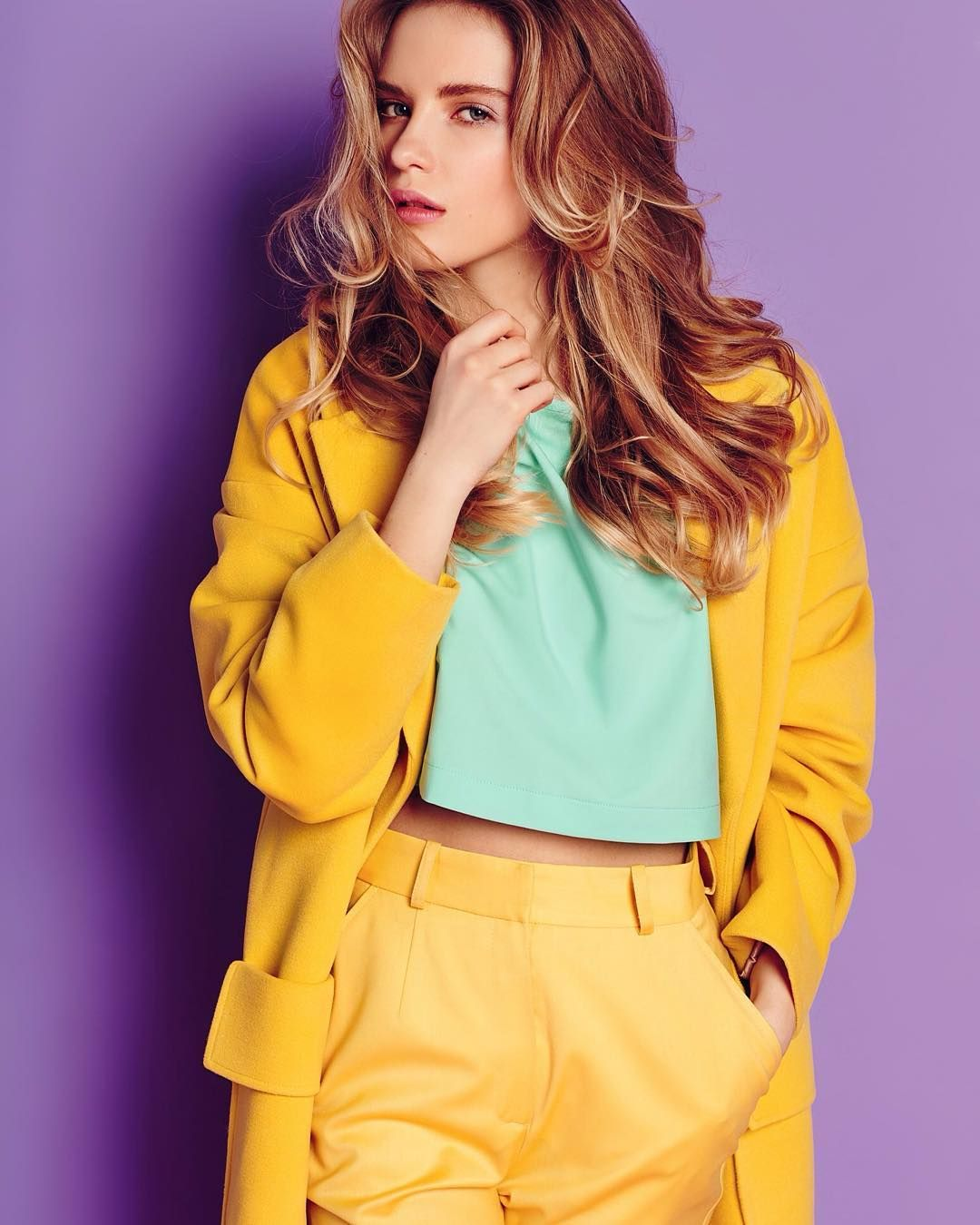 165 Me Gusta 2 Comentarios Polina Grishenina Polinagrishenina En Instagram Model Ratnikovatanya Stil Maison De Marie Viza Fashion Style Women S Top