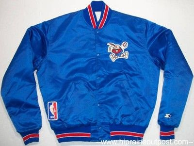 Vintage Denver Nuggets Nba Basketball Starter Team Satin Jacket Mens Size Large Satin Jackets Jackets Mens Jackets