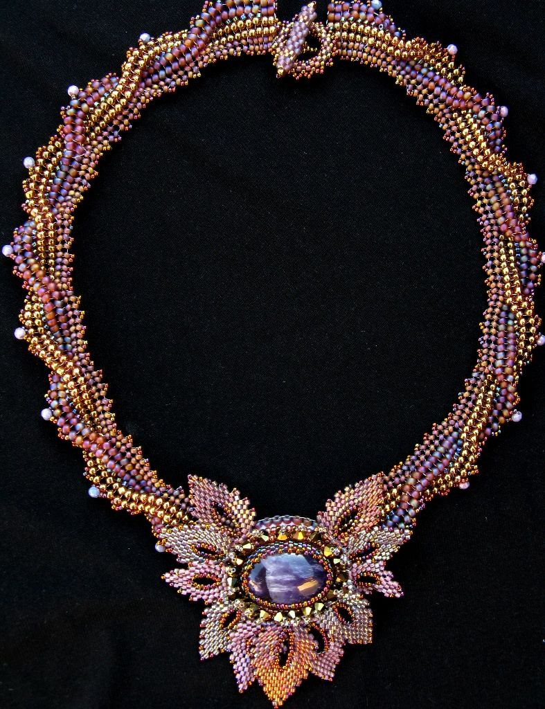collier perle monet