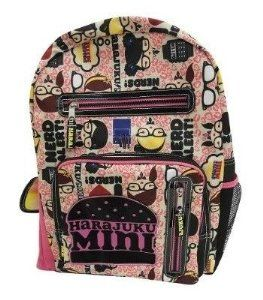 Amazon com : Harajuku Mini Book Bag / Back Pack / Tote Bag
