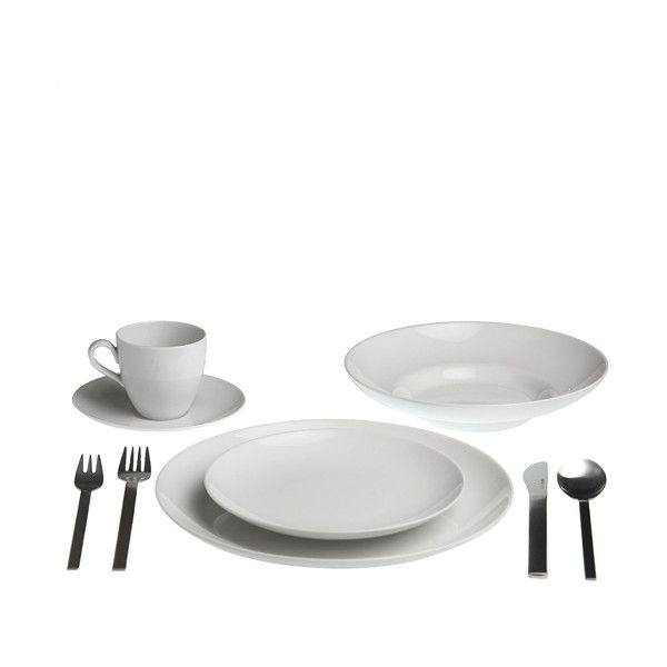 Alessi Mami Dinnerware 5pps With Soup Plate (155 CAD) ❤ liked on Polyvore featuring  sc 1 st  Pinterest & Alessi Mami Dinnerware 5pps With Soup Plate (155 CAD) ❤ liked on ...
