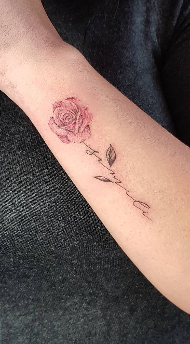Minimalist Rose Tattoo Ideas C Tattoo Artist Underskin Tattoo Mantova Tattoos For Daughters Rose Tattoos For Women Rose Tattoo With Name