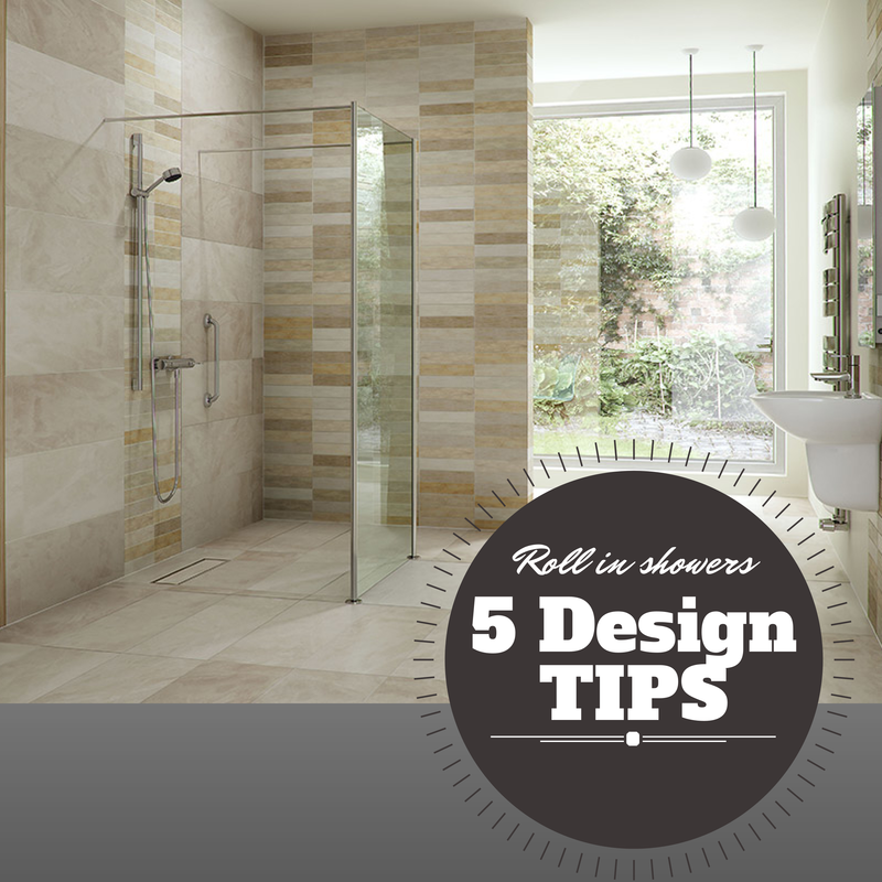 5 Design Tips for a Roll in Shower for an Elderly Parent | Showers ...