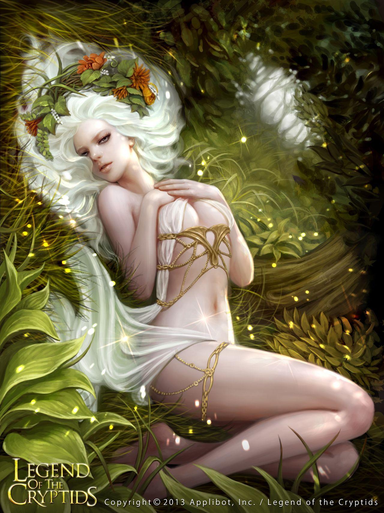 Nude Fairy Erotic Art Deco Faerie Bronzed Wall Plaque