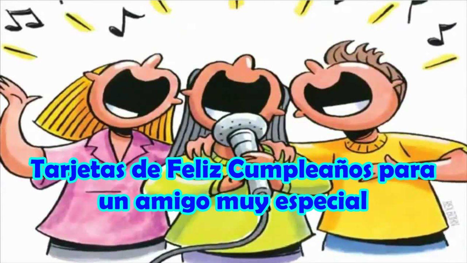 Tarjetas de Feliz Cumpleaños para un Amigo muy Especial, Dios te bendiga por siempre http