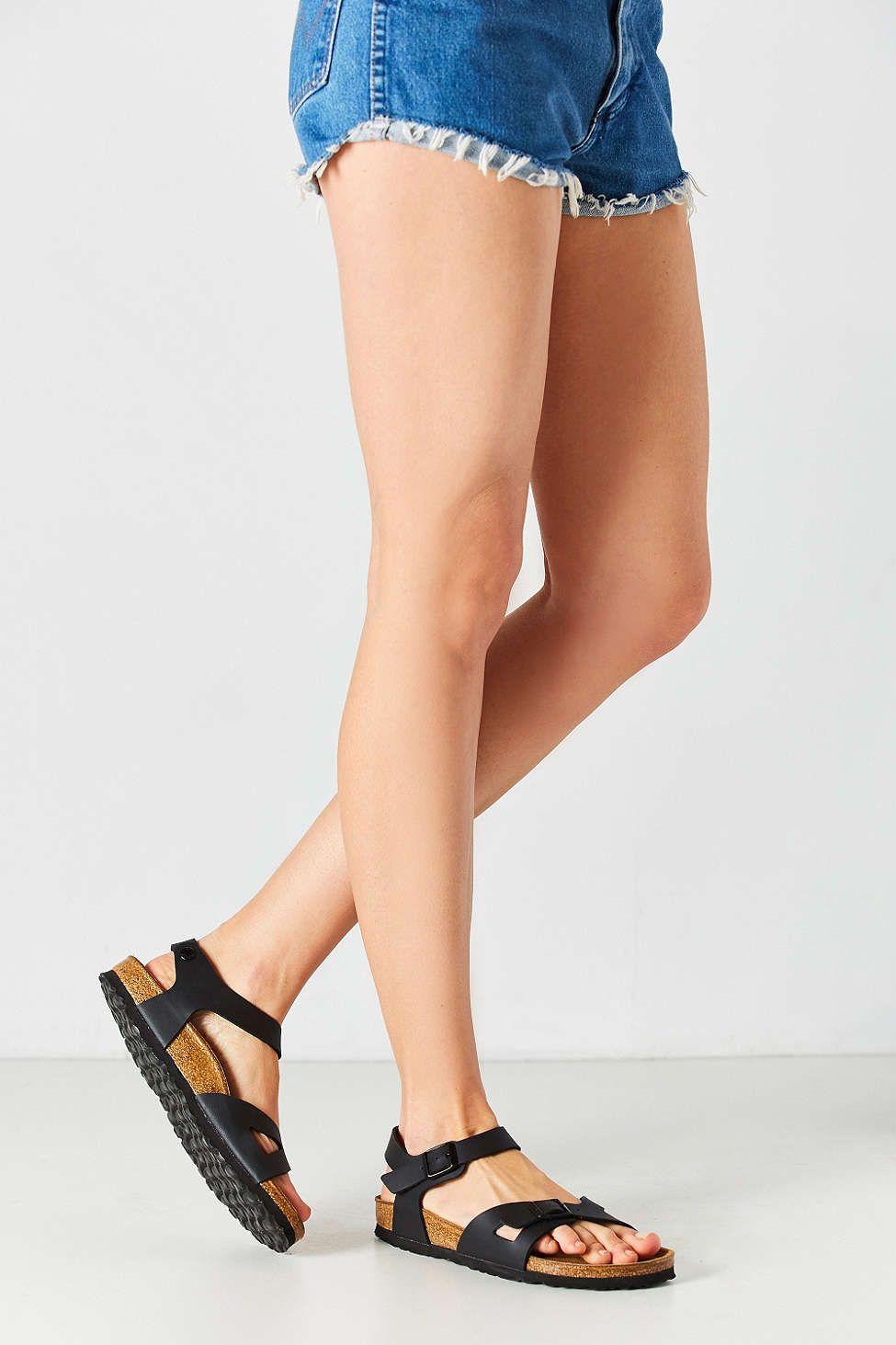 Birkenstock Rio Quarter Strap Sandal Strap Sandals Birkenstock Ankle Wrap Sandals