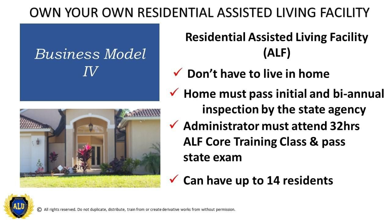 Assisted Living University created to shorten your