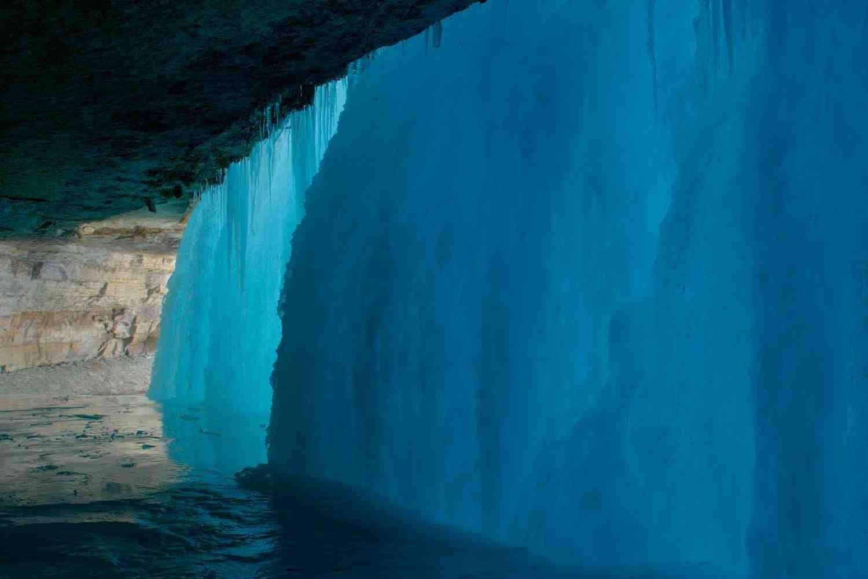 Bevroren Minnihaha waterval