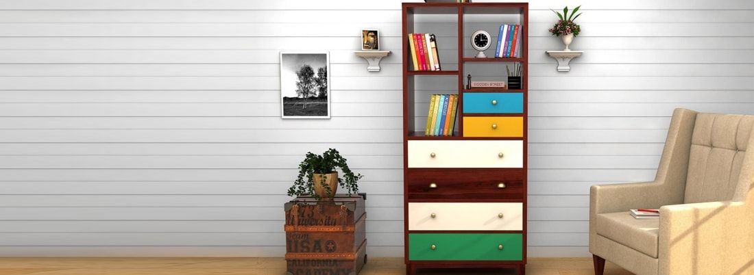 Buy Bookshelves Online At The Most Affordable Prices Wooden