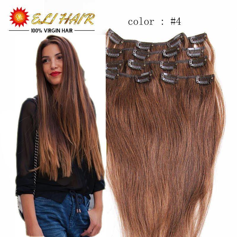 Eli Hair Company 20 Colors In Stock Clip In Brazilian Hair