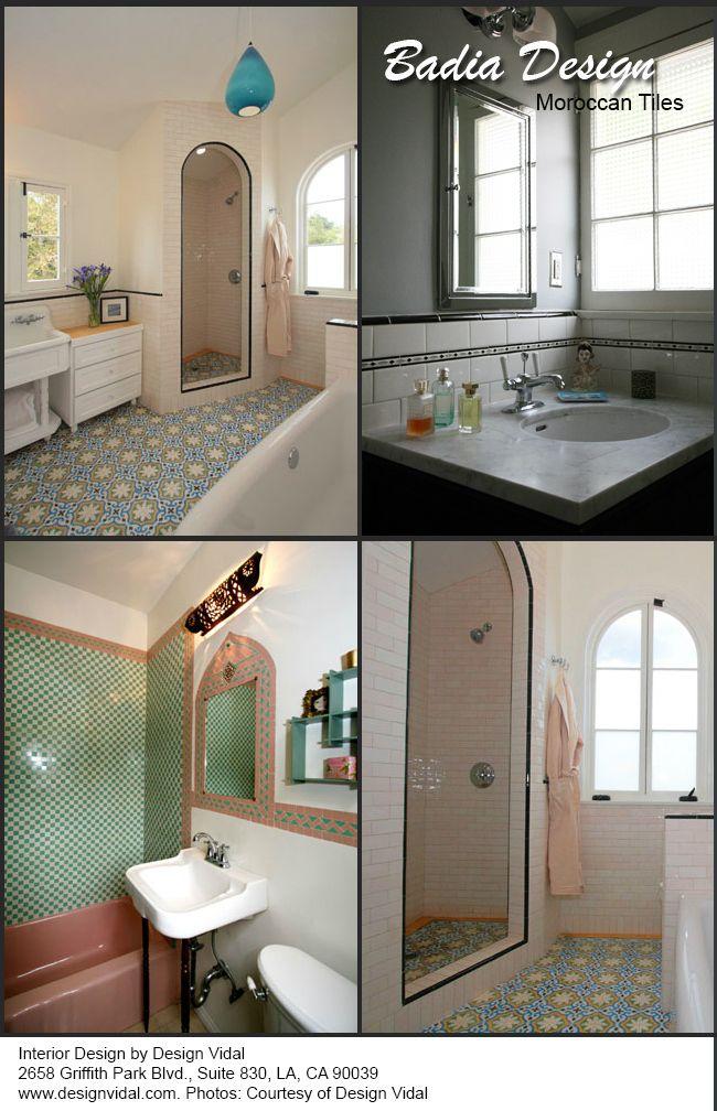 Moroccan Bathroom Tiles Los Angeles  Wwwbadiadesign Brilliant Moroccan Tile Bathroom Design 2018