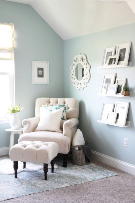 Office Decorating Ideas Blog home- cozy office nook, feminine home office, organized home office, small  office, decorating, farmhouse office