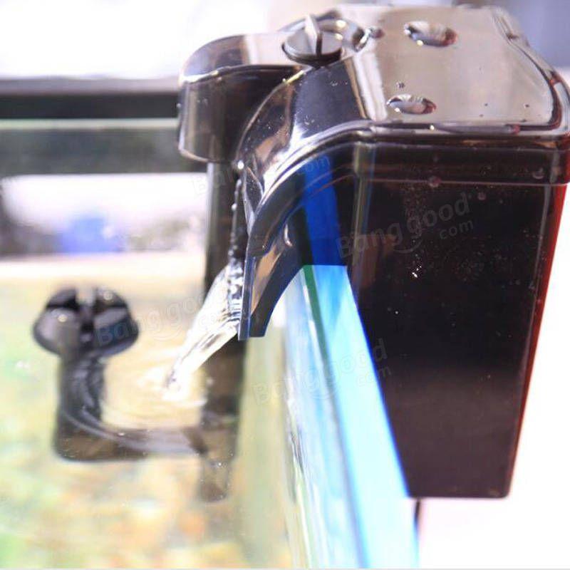 Power Filter Hang On Aquarium Filter Fish Tank Filter External Hanging Fish Tank Power Filter