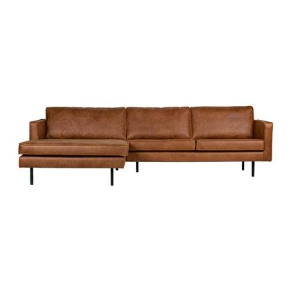 Grote Hoekbank Echt Leer.Bepurehome Rodeo Bank 3 5 Zits Chaise Longue Links Chaise Longue