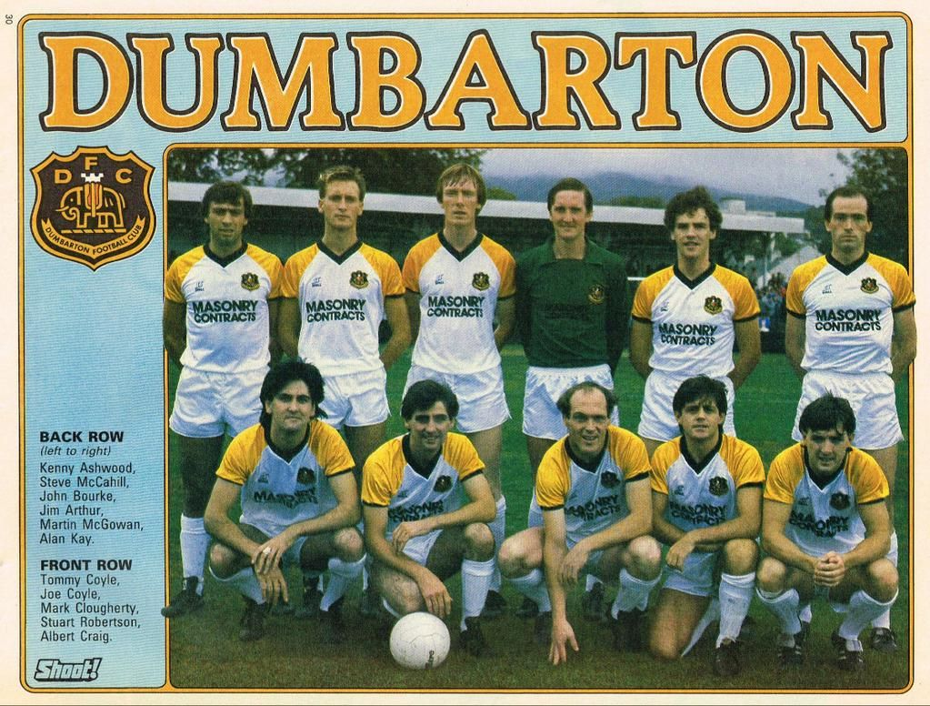 Scots Footy Cards on Retro football
