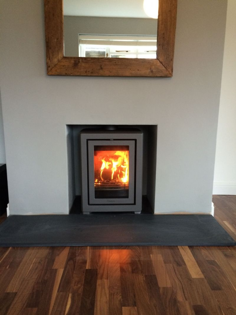 The contura i4fs installed into an existing fireplace opening by the contura i4fs installed into an existing fireplace opening by kernow fires in cornwall teraionfo