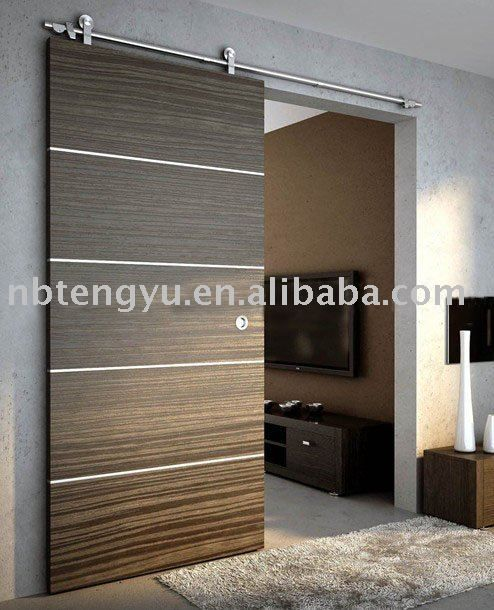 Diy American Style Modern Interior Design Custom Sliding Insulated Barn Door Teak Wood Door View Teak Wood Interior Door Designs Tengyu Oem Product Details Fr Wood Doors Interior Doors Interior Modern Wooden
