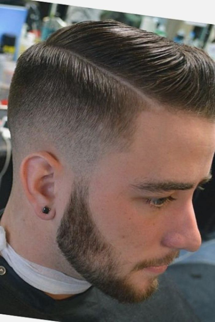 Tapered Haircut For Men Side Part Hairstyles Overview Fade