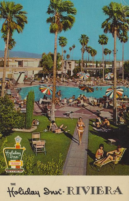 Holiday Inn Riviera Palm Springs California Travel Posters