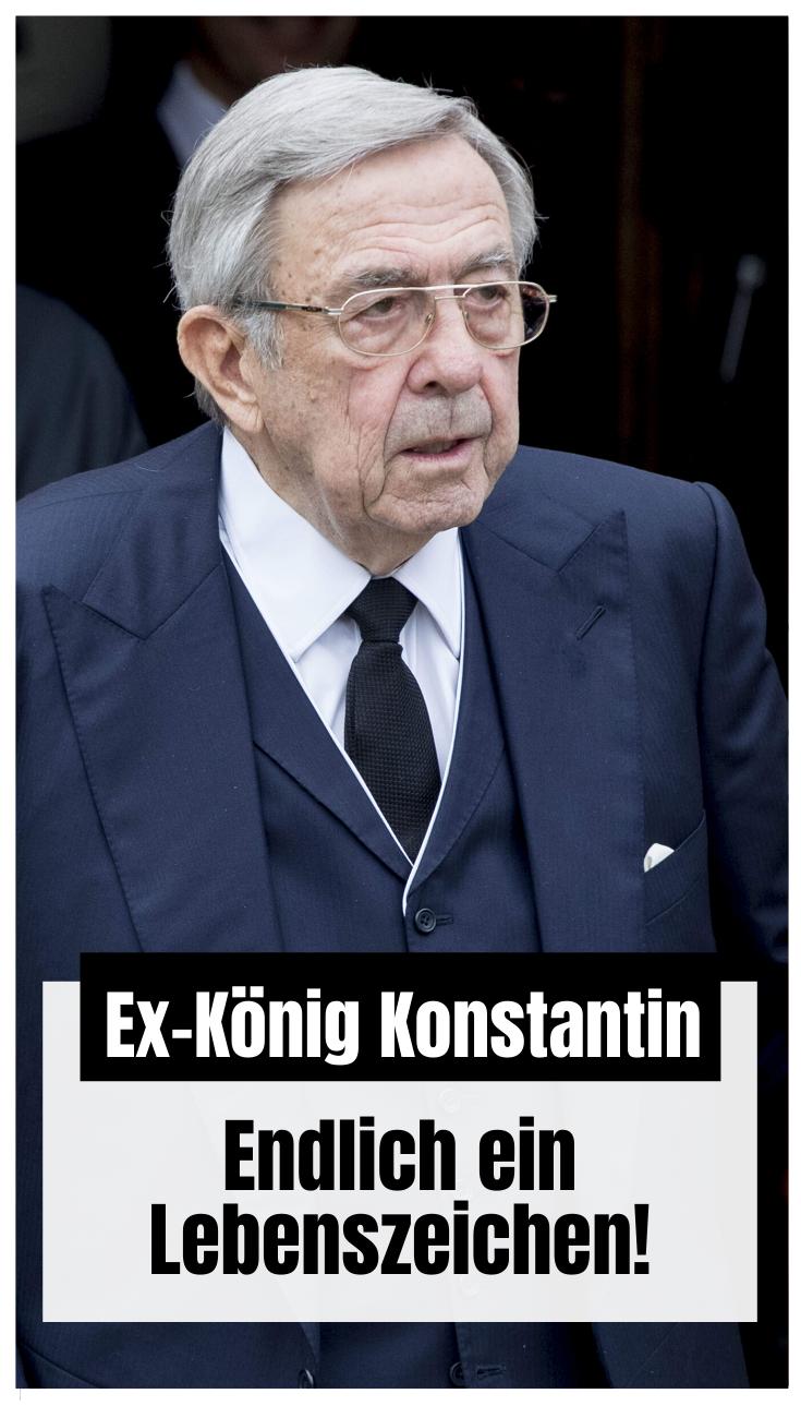 Konstantin Von Griechenland Endlich Ein Lebenszeichen Griechisches Konigshaus Griechenland Konigin Sofia