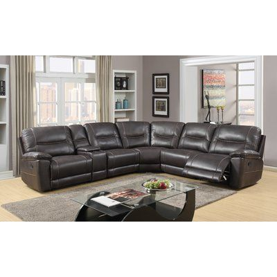 Red Barrel Studio Trower Reclining Sectional in 2019 | Products ...