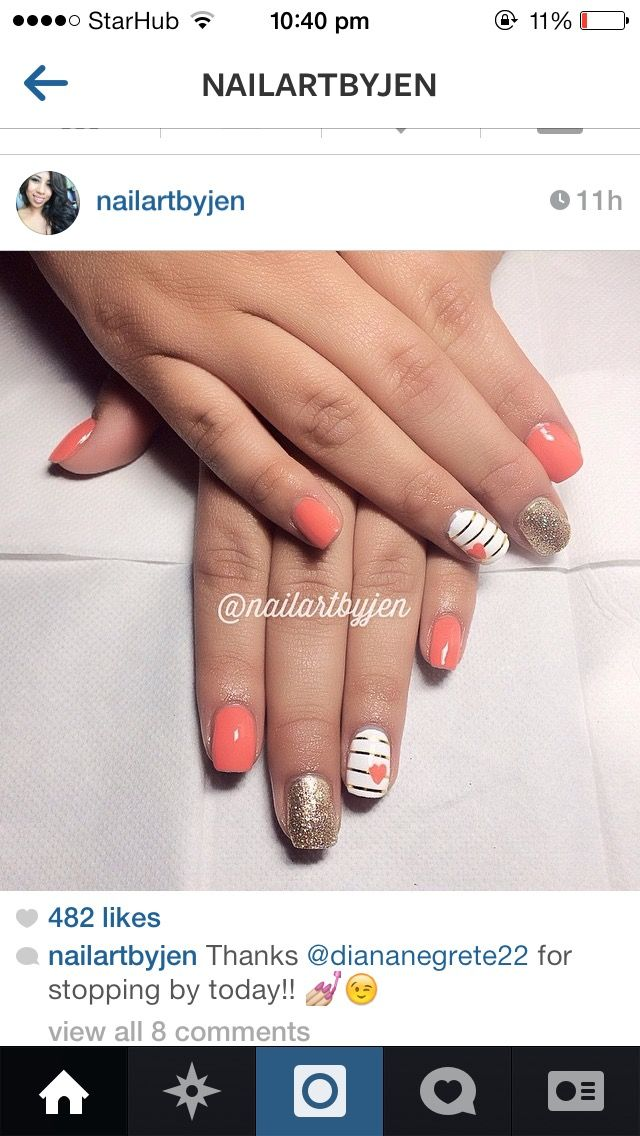 Pin by Jayna Ong on NAILS   Pinterest