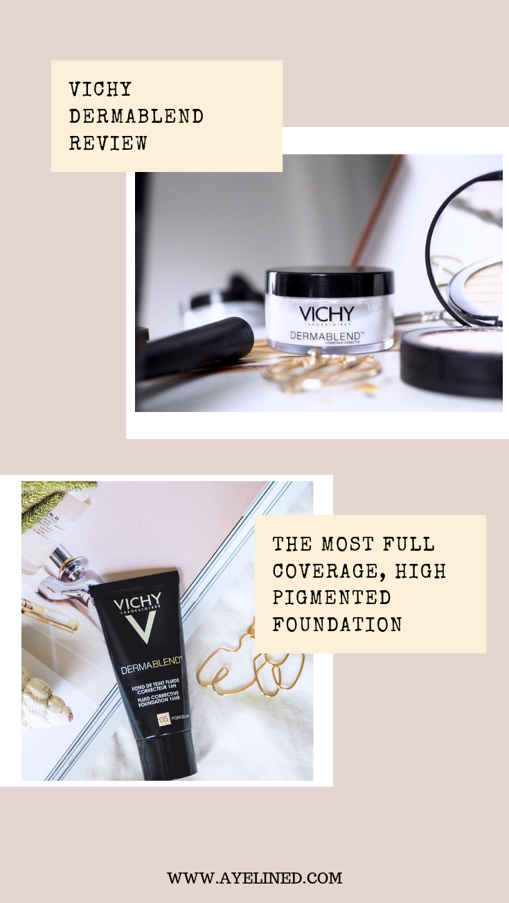 Vichy Dermablend ReviewFull Coverage Foundation & more