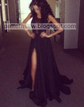 باترون مفصل لفستان سواريه اسود Pattern Sewing African Dress Dresses Formal Dresses Long