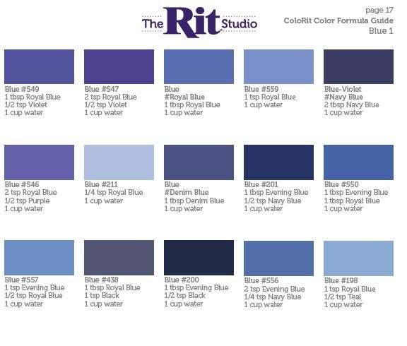 blue 1 | Photography Ideas & Useful Stuff | Rit dye, Rit dye colors ...