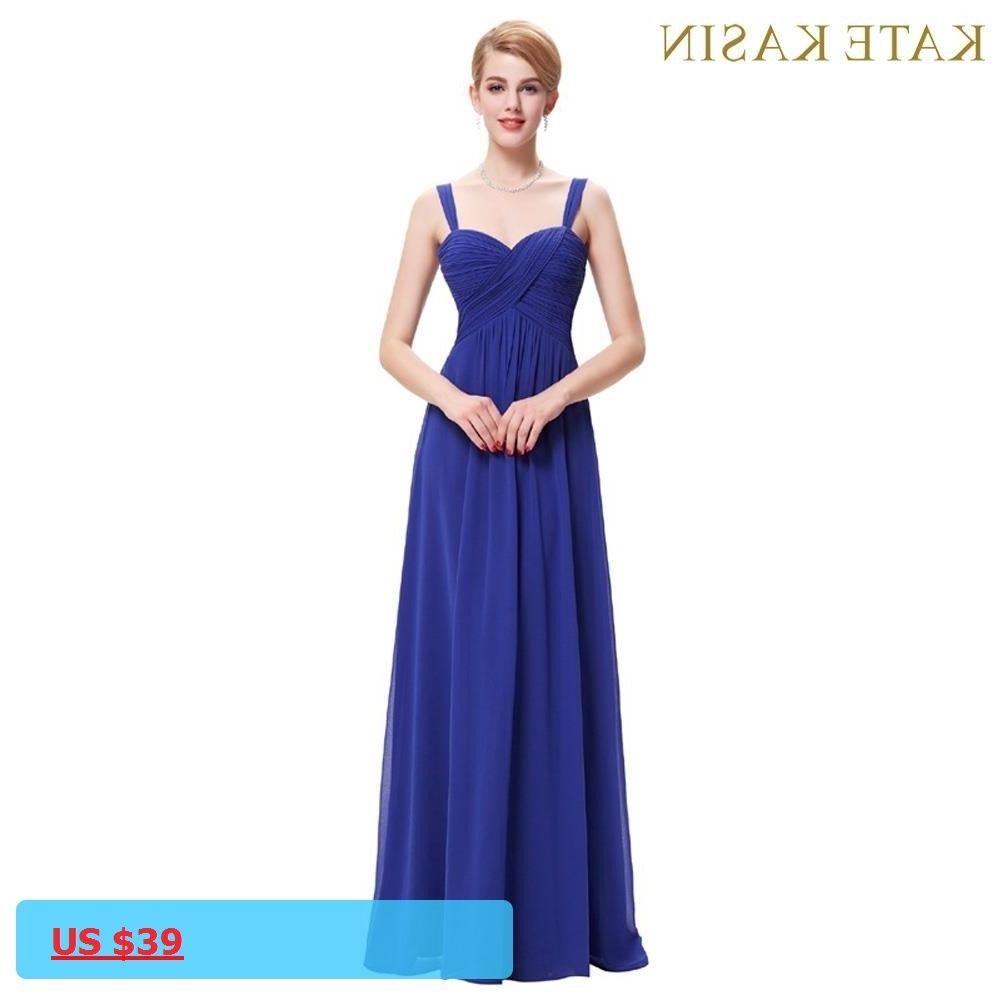 Kate kasin summer evening dresses long robe de soiree elegant