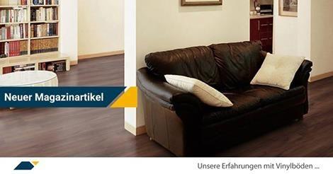 Unsere Erfahrung Mit Vinylboden Im Magazin Von Www Parkett Direkt Net Vinylboden Parkett Und Vinyl