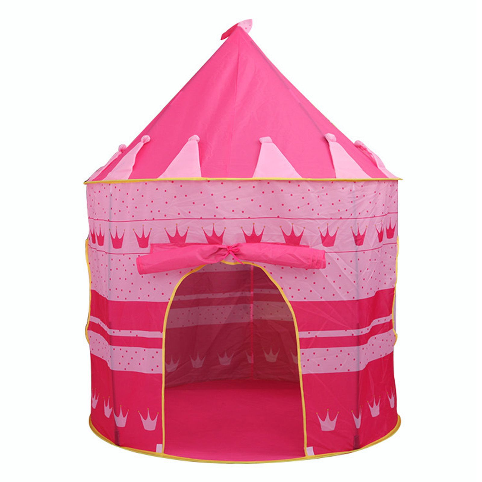 QWZ Foldable Play Tent Kids Children Boy Girl Castle Cubby Play House Bithday Christmas Gifts Outdoor Indoor Toy Tents Age Range u003e 3 years oldu003e 6 years  sc 1 st  Pinterest & pink princess castle play tent for girls | play tent | Pinterest ...